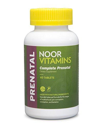 NoorVitamins Prenatal Easy-Swallow Tablets - 60 Count - Halal Vitamins (1)