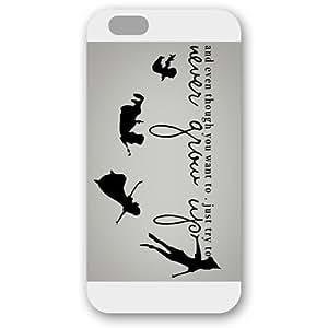 diy case - Customized Peter Pan iPhone 6 Plus 5.5 Hard Plastic case cover - White WANGJING JINDA