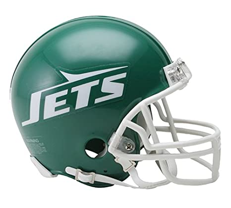 Image Unavailable. Image not available for. Color  New York Jets 1978-89  Throwback NFL Riddell Replica Mini Helmet 4097f7c44