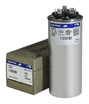 Amazon.com: GE genteq Ronda Condensador 40 5 UF MFD 440 V 97 ...
