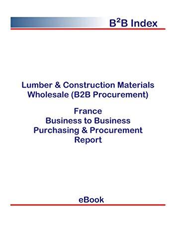 Lumber & Construction Materials Wholesale (B2B Procurement) in France: B2B Purchasing + Procurement Values