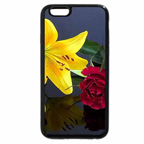 iPhone 6S / iPhone 6 Case (Black) The lily and the rose