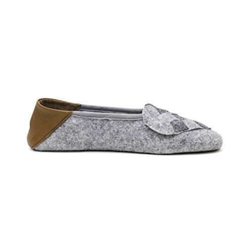 A. Andreassen Luxury Womens Elskling Slippers Italian Wool Felt Memory Foam Comfort Footbed 4Hf5iUePAz