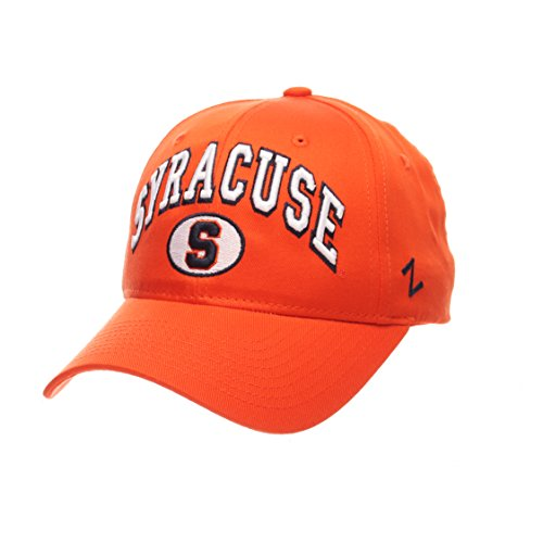(ZHATS Syracuse Orangemen The Sport Relaxed Fit Orange Snapback Cap - NCAA One Size Adjustable Baseball Hat)