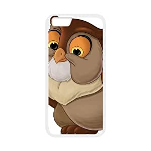 iphone6 4.7 inch Phone Case White Bambi Friend Owl CZL5843865