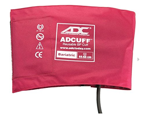 """ADC 845-12BXBD-1 Blood Pressure Cuff, 1 Tube , 17.3 to 26"""" (44 to 66 cm), 1 Tube"""