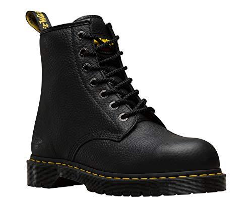 Dr. Martens Work Unisex Service 7B10 7-Eye Boot Black Industrial Bear 6 M UK