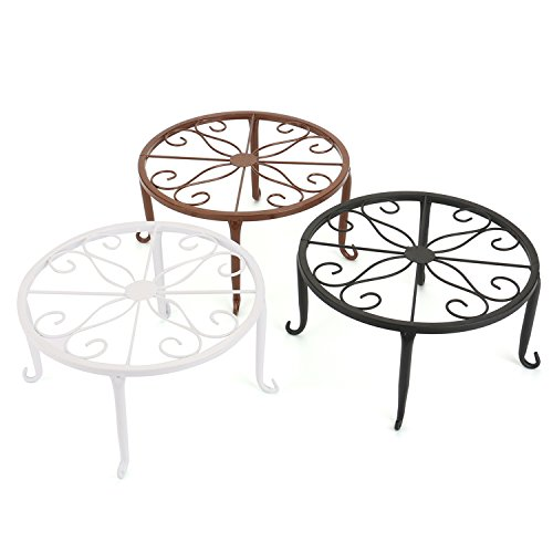 Tosnail Olde Metal / Iron Art Plant Stands Pot Holder, 9