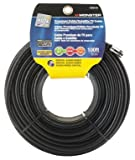 CABLE RG6 QUAD 100' BLK by MONSTER JHIU MfrPartNo 140028-00