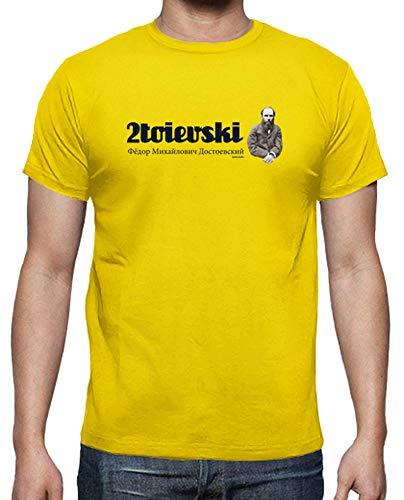 T Tostadora 2toievski Uomo shirt Giallo Limone ZA0UAO