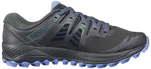 Saucony Women's Peregrine ISO Trail Running Shoe, Gunmetal, 5.5 M US by Saucony (Image #6)