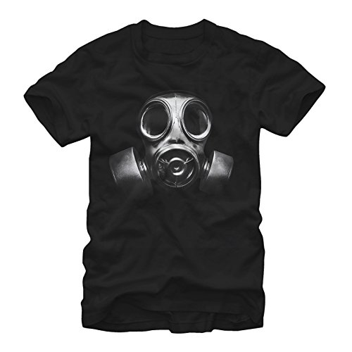 Sun God Mask - Lost Gods Gas Mask Mens Graphic T Shirt