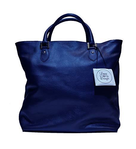 Love My Bags Happy 1808 - Sac en cuir de veau deux poignées