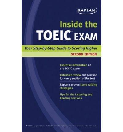 [ Kaplan Inside the TOEIC Exam (Kaplan Toeic) [ KAPLAN INSIDE THE TOEIC EXAM (KAPLAN TOEIC) ] By Van Metre, Donald ( Author )Oct-01-2008 Paperback