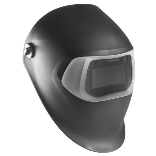 3M Speedglas Black Welding Helmet 100, Model with Auto-Darkening Filter 100S-10, Shade 10, Model 07-0012-10BL