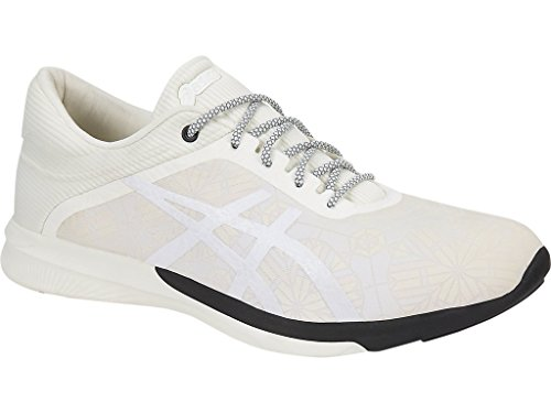 ASICS fuzeX Rush Kaleidoscope, Cream/Black, 9 - Kaleidoscope Cream