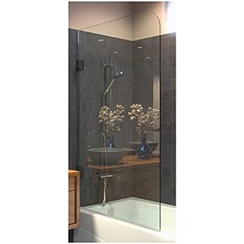 Amazoncom Ark Showers Frameless Bathtub Shower Screen Pivot
