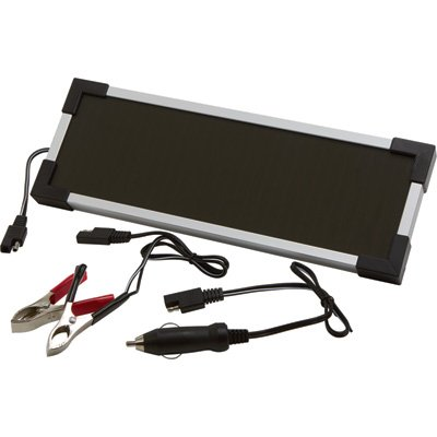 Strongway Amorphous Solar Panel Battery Maintainer Kit - 2 - Panel Amorphous