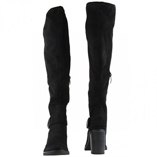 tela 1 black para negro Botas Tamaris mujer 37 001 001 25588 negro de negro black 001 xY6FF1wdq