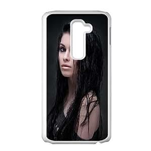 LG G2 Cell Phone Case White Natalie SUX_070931