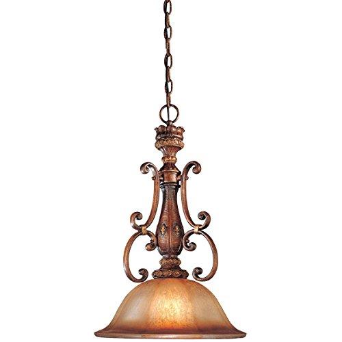 Minka Lavery Pendant Ceiling Lighting 1349-177, Illuminati Large Round, 1 Light, 100 Watts, Bronze