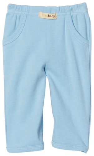 L'ovedbaby Baby Signature Pant, Blue 9-12 Months