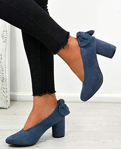 Bleu Sandales Femme Cucu Fashion Compensées ngq70v