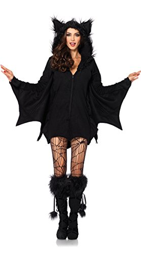 Halloween sexy bat costume women 1pcs dress