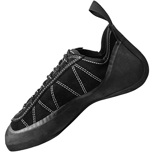 Scarpetta d'arrampicata Nero Panther brogue