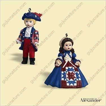 Mini 2006 Ornaments - Hallmark Madame Alexander - MINIS - Yankee Doodle 2006 Ornament