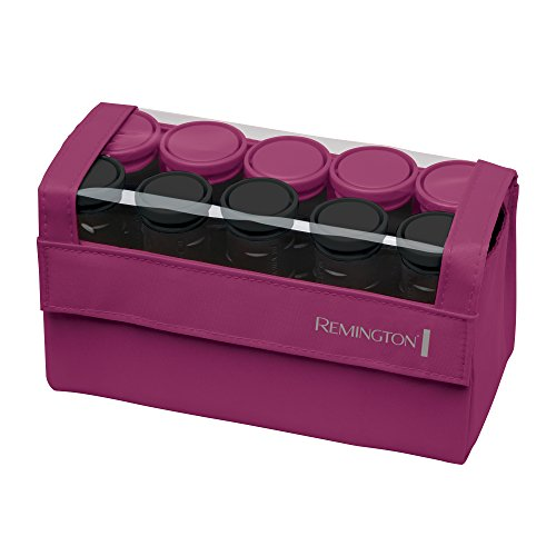 Remington H1015 Compact Ceramic Worldwide Voltage Hair Setter, Hair Rollers, 1-1 ¼ Inch, Pink
