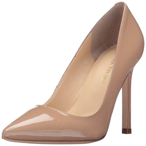 Ivanka Trump Women's Carra Pump, Beige Patent, 7.5 Medium US