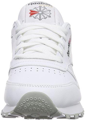 Basses Mixte Classic White Lt Grey Baskets Leather Adulte Reebok 000 Blanc Int wtIHqqdx7