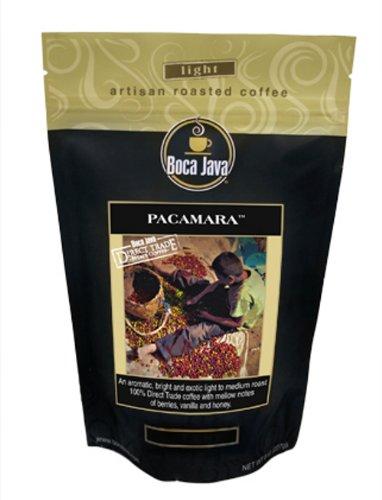 Boca One Light - Direct Trade Nicaragua Coffee, Pacamara, 100% Specialty Arabica, Light Roast, Whole Bean, 8oz (2 Pack)