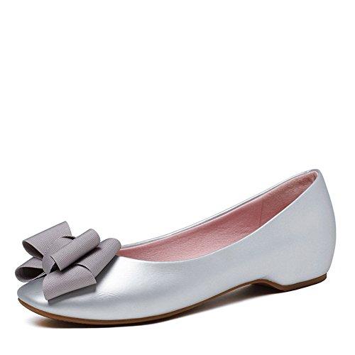 Zapatos de primavera/Cabeza circular poco profunda arco zapato del barco/baja zapatos casual A