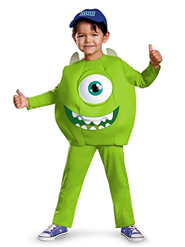 Disney Pixar Monsters University Mike Boys Deluxe Costume, Large/4-6]()