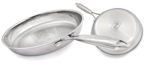 Catering Line Nuovo Optimum Stick Resistant 30cm 3 Ply Stainless Steel Frypan