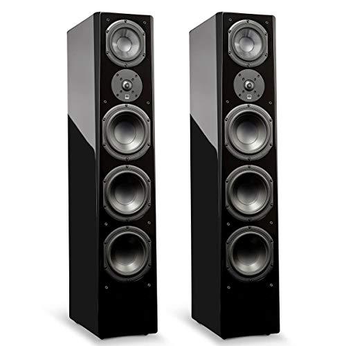 SVS Prime Pinnacle - 3-Way Tower Speaker (Pair) - Piano Gloss Black ()