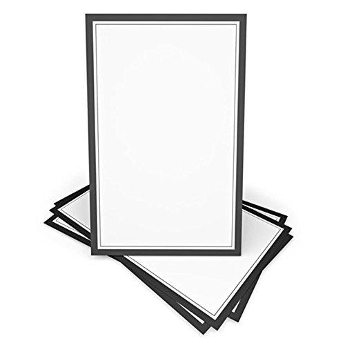Black & White Invitation Kit- 100 CT -