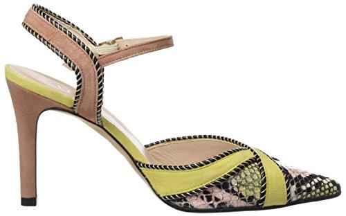 lodi Rasac, Zapatos con Correa de Tobillo para Mujer Varios colores (Anaconda Nude-Polen-Rubor)