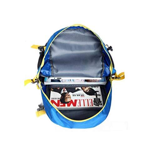 Para Ligera Escalada Bolsa Impermeable Laptop Mochilas 40l Aire Hombro Al Black Viaje Libre Bolsas De Mochila OvHxza1