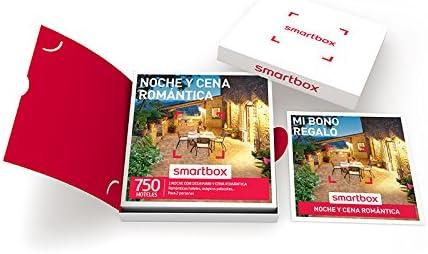 SMARTBOX - Caja Regalo - NOCHE Y CENA ROMÁNTICA - 750 románticos ...