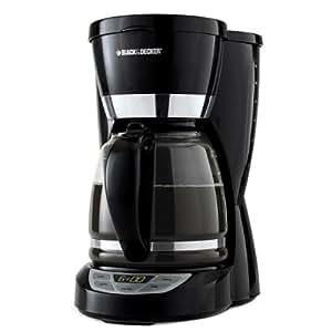 Black & Decker CM1050B 12-Cup Programmable Coffeemaker, Black