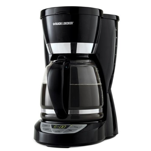 Black & Decker CM1050B 12-Cup Programmable Coffeemaker, Black