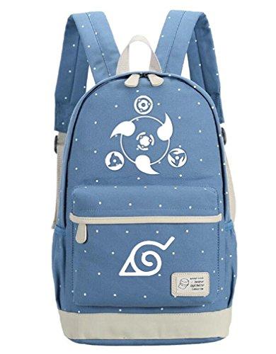 YOYOSHome Luminous Japanese Anime Cosplay Daypack Bookbag Laptop Backpack School Bag (Naruto 2)