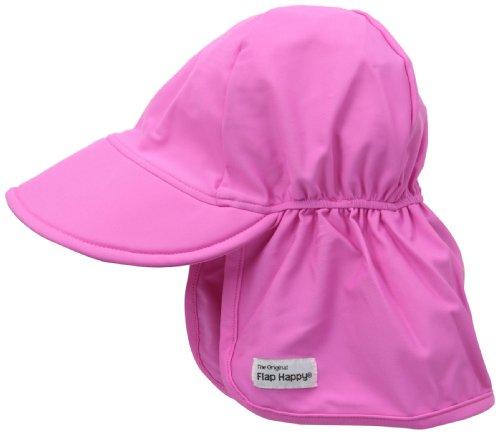 Flap Happy Baby and Childrens - Gorro de natación con protección solar UPF 50 +, protección UV certificada, tinte sin...