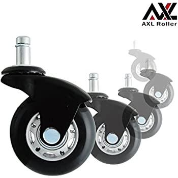 Amazon Com Axl 2 5 Quot Office Chair Caster Wheel Replacement