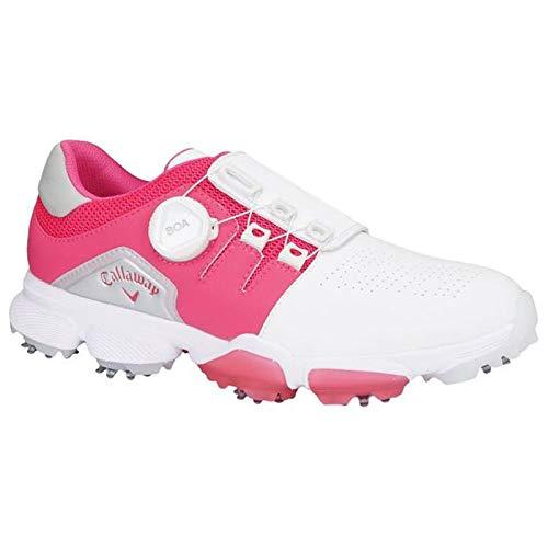 キャロウェイキャロウェイゴルフは、ゴルフ18の 女子HYPCHEVゴルフシューズシューズ   B07S1G5GBS
