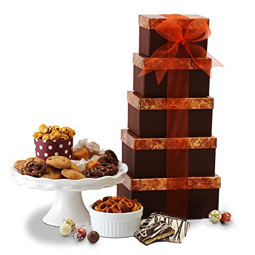 Gourmet Holiday Gift Basket for Christmas & Corporate Gifts for Men, Women, Families & Great Birthday, Get Well, Sympathy, & Thank you Snack Gift Idea (The Best Corporate Gifts)