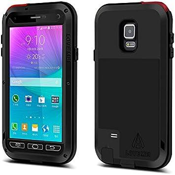 Funda Love Mei para Samsung Galaxy Note 4, resistente al agua, de aluminio Gorila a prueba de golpes, compatible con Samsung Galaxy Note 4: Amazon.es: Electrónica